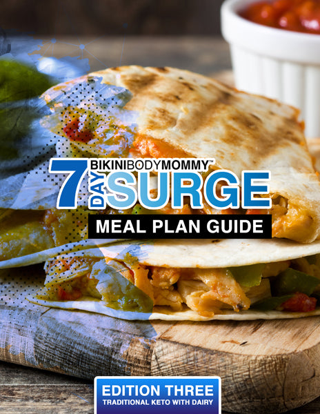 SURGE Meal Plan - Edition Three (Dairy Included)