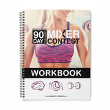 90 Day Challenge Mixer 2 Workbook (Premium Color) - Hard Copy