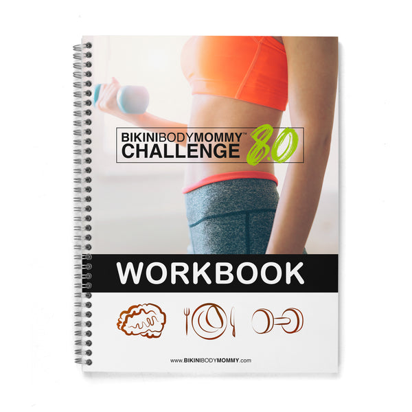 BIKINBODYMOMMY™ Challenge 8.0 Workbook (Premium Color) - Hard Copy
