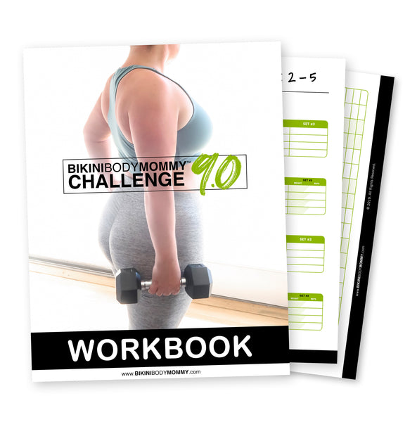 BIKINBODYMOMMY™ Challenge 9.0 Workbook (Digital Version)