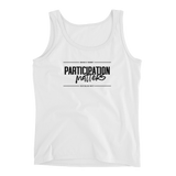 "90 Day Challenge Contest - ""Participation Matters"" - Ladies Tank"
