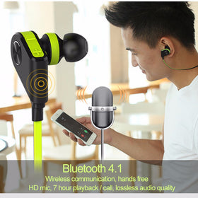 Bluetooth wireless Stereo Headphone with Smart Magnet