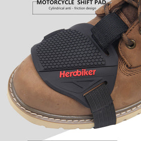 Protective Rubber Motorcycle Gear Shifter for Shoes and Boots