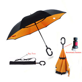 Double Layer Reverse Umbrella - Innovative Design