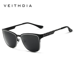 VE3580 - Stainless Steel Polarized  Sunglasses for Women