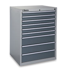 Beta Tools C35/9G-INDUSTRIAL TOOL CHEST 9 DRAWERS