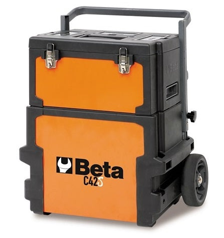 Beta CP51 2-Level Mobile Workshop Tool Trolley Grey
