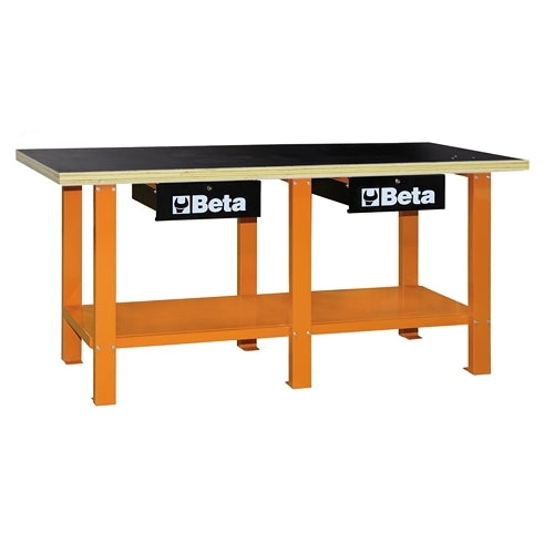 Beta Tools C56W-WORKBENCH WITH WOOD TOP