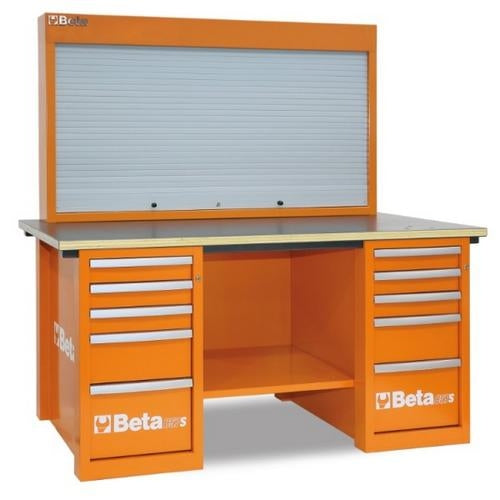 Beta Tools C57S/B-O-MASTERCARGO WORKBENCH ORANGE