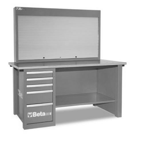 Beta Tools C57S/A-G-MASTERCARGO WORKBENCH GREY