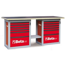 "Beta Tools C59B-""ENDURANCE"" WORKBENCH 6 DRAWERS"