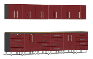 Ulti-MATE Garage 2.0 Series 14-Piece Set Ruby Red Metallic UG23142R