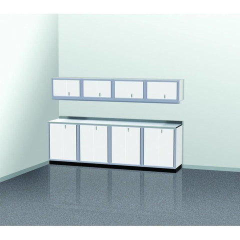 Image of Moduline Garage PRO II Cabinet Combo 9 Piece 10 Foot Wide #PGC010-01X - Garage Tools Storage