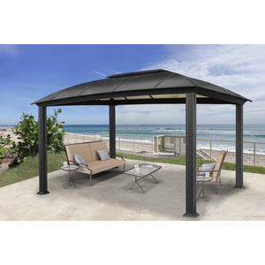 Paragon Outdoor Cambridge 12'x16' Hard Top Gazebo GZ3DXL Siena