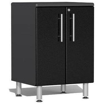 Ulti-MATE Garage 2.0 Ultimate 2-Door Base Cabinet Black Metallic