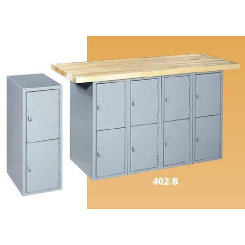 Parent Metal -  Industrial Furniture Locker & Cabinet Bases 402B