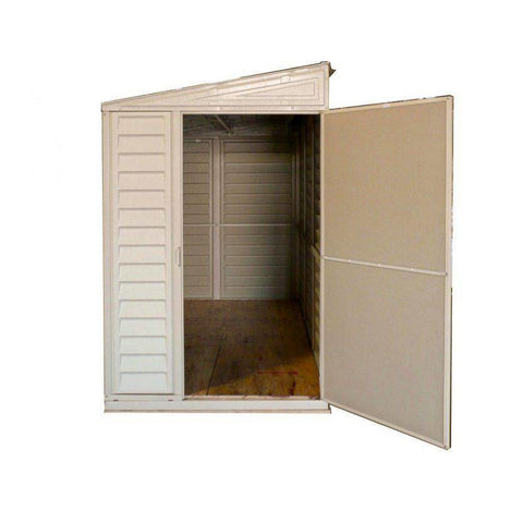 Image of Duramax 4' x 8' SideMate Shed with Foundation 06625