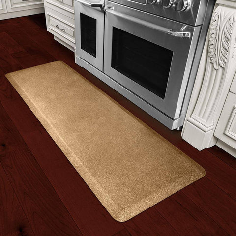 WellnessMats Granite 6'X2' 62WMRGG, Granite Gold