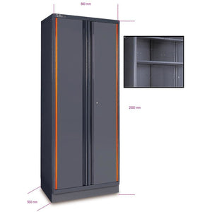 Beta Tools C55 A2-TWO-DOOR TOOL CABINET - Garage Tools Storage