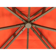 Paragon Outdoor Kingsbury Gazebo with Rust Sunbrella Top GZ584R