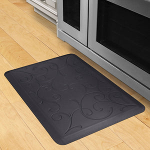 Wellnessmats Bella Estates Shades of Blue EB32WMRBBLK MidnightBlue