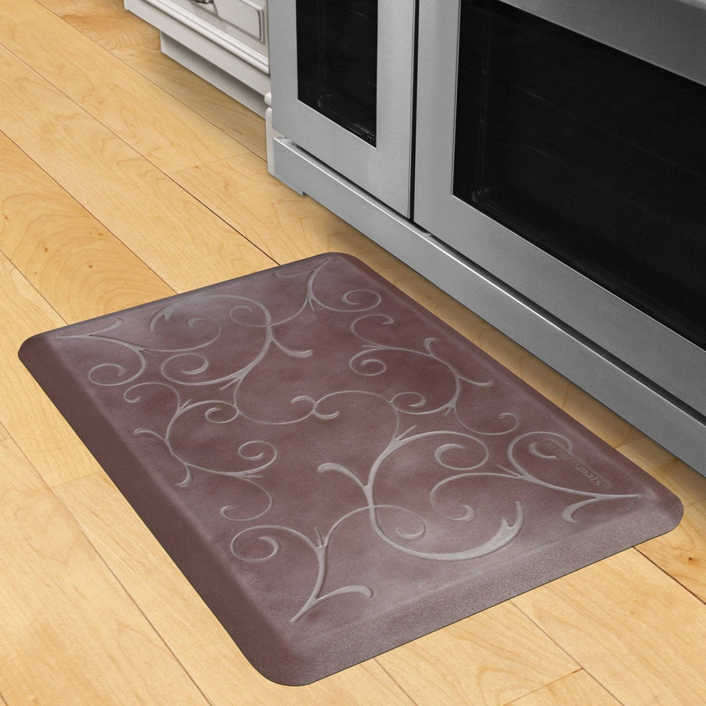 Wellnessmats Bella Estates Shades of Silver EB32WMRBNBUR,Garnet