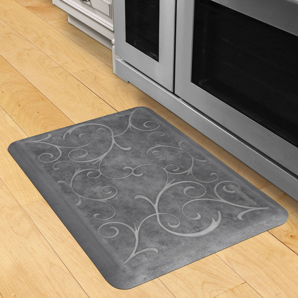 Wellnessmats Bella Estates Shades of Silver EB32WMRBNGRY,Slate