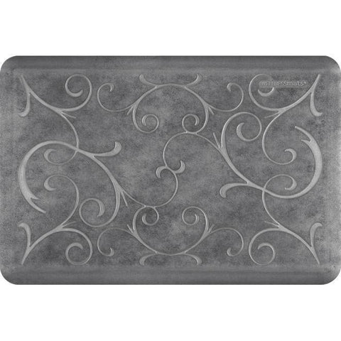 Image of Wellnessmats Bella Estates Shades of Silver EB32WMRBNGRY,Slate