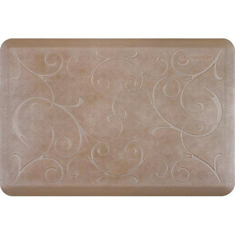 Image of Wellnessmats Bella Estates Shades of Silver EB32WMRBNTAN,Sandstone