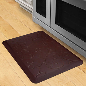 Wellnessmats Bella Estates Shades of Red EB32WMRRBLK,Coconut