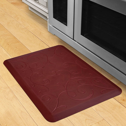 Image of Wellnessmats Bella Estates Shades of Red EB32WMRRBRN,Coral