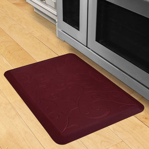 Wellnessmats Bella Estates Shades of Red EB32WMRRBUR,RedSea