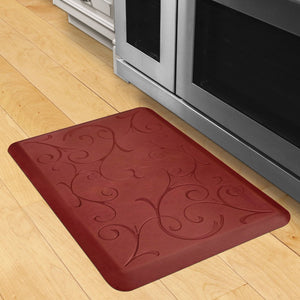 Wellnessmats Bella Estates Shades of Red EB32WMRRTAN,Sunset