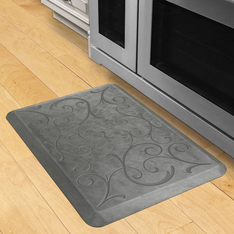 Image of Wellnessmats Bella Estates Shades of Silver EB32WMRSL,SilverLeaf