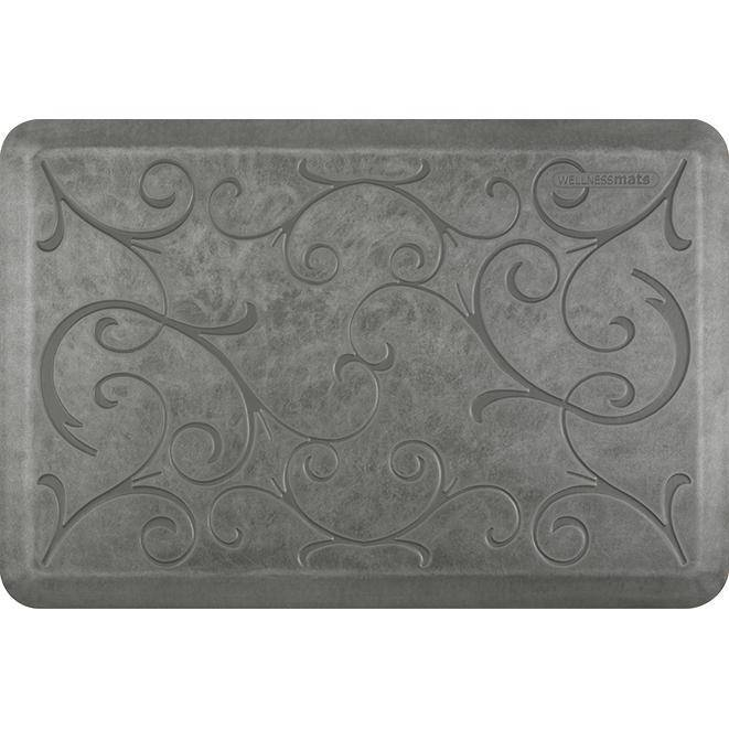 Wellnessmats Bella Estates Shades of Silver EB32WMRSL,SilverLeaf