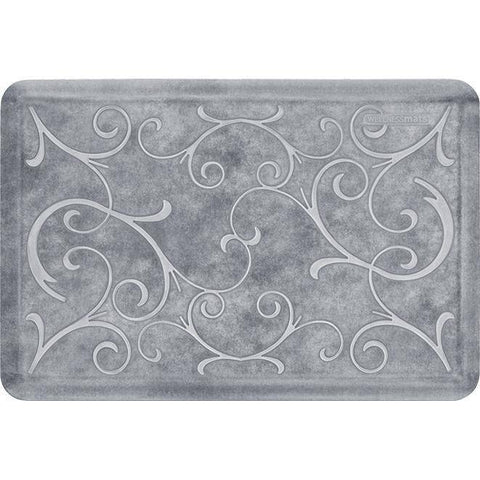 Image of Wellnessmats Bella Estates Shades of White EB32WMRWBLK,SeaMist