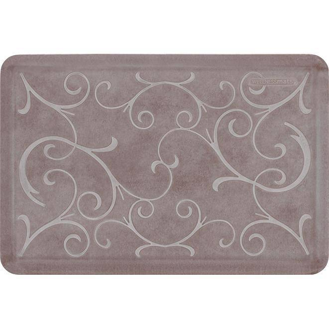 Wellnessmats Bella Estates Shades of White EB32WMRWBRN,Driftwood