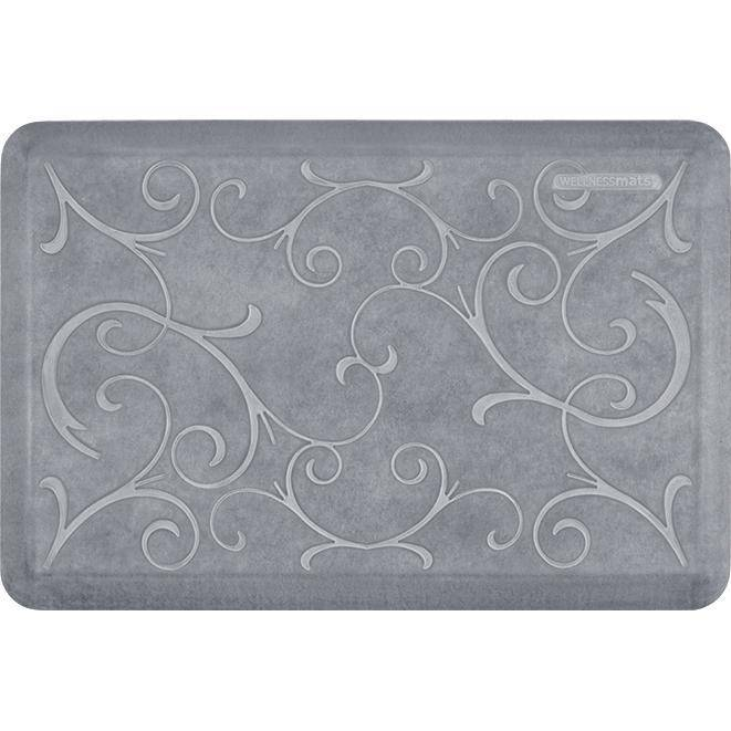 Wellnessmats Bella Estates Shades of White EB32WMRWGRY,Beach Glass