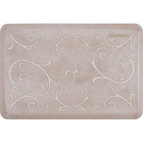 Image of Wellnessmats Bella Estates Shades of White EB32WMRWTAN,Sand Dollar