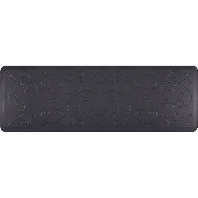 Wellnessmats Bella Estates Shades of Blue EB62WMRBBLK,MidnightBlue