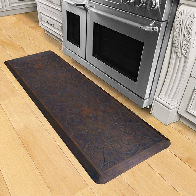 Wellnessmats Bella Estates Shades of Blue EB62WMRBBRN,Harbor