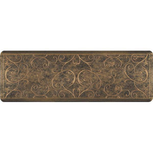 Wellnessmats Bella Estates Shades ofGold EB62WMRBGBLK,Bronze