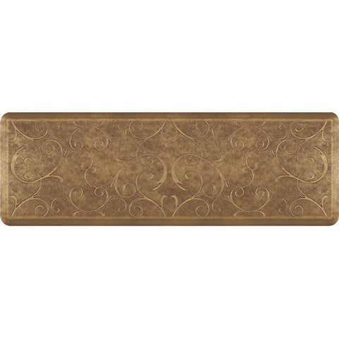 Image of Wellnessmats Bella Estates Shades ofGold EB62WMRBGBRN,Quartz