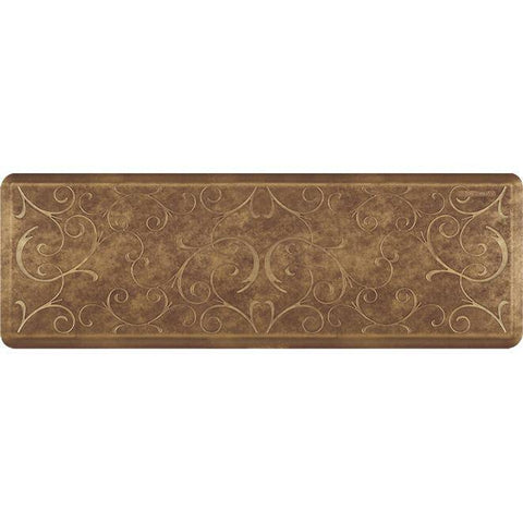 Image of Wellnessmats Bella Estates Shades ofGold EB62WMRBGBUR,Garnet