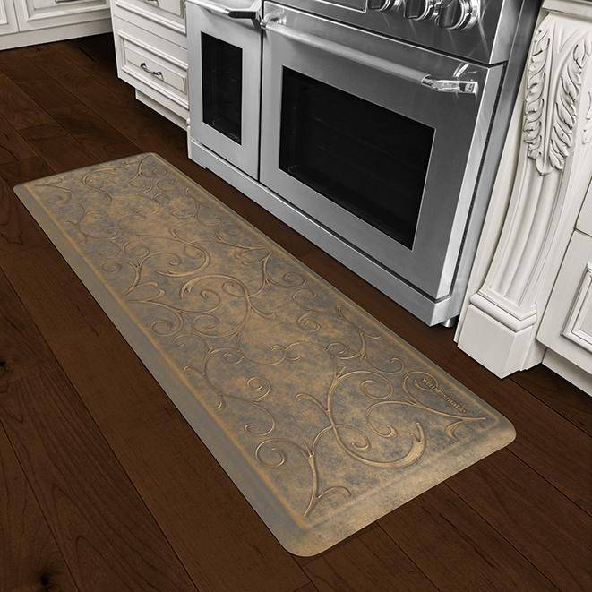Wellnessmats Bella Estates Shades ofGold EB62WMRBGGRY,AntiqueGold