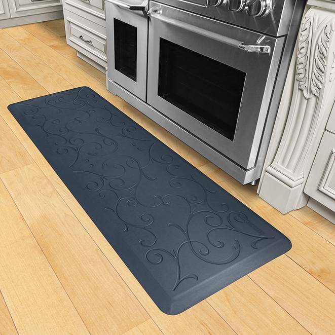 Wellnessmats Bella Estates Shades of Blue EB62WMRBGRY,Lagoon