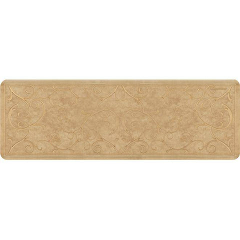 Image of Wellnessmats Bella Estates Shades ofGold EB62WMRBGTAN,AztecGold