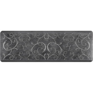 Wellnessmats Bella Estates Shades of Silver EB62WMRBNBLK,Onyx