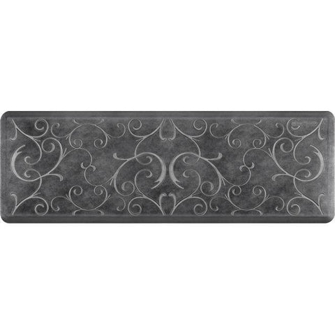 Image of Wellnessmats Bella Estates Shades of Silver EB62WMRBNBLK,Onyx