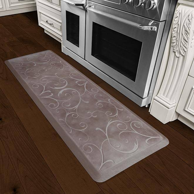 Wellnessmats Bella Estates Shades of Silver EB62WMRBNBRN,Quartz